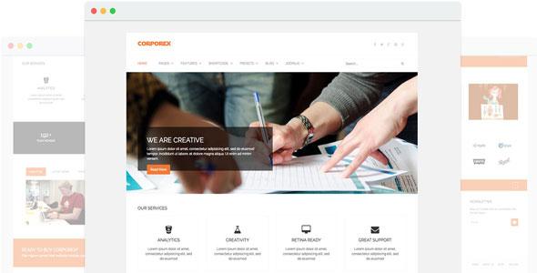 joomla商务模板-Corporex