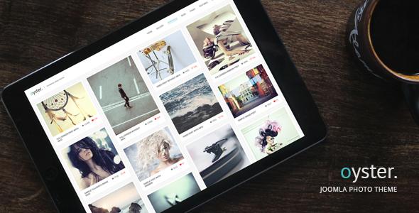 joomla图片网站模板-oyster