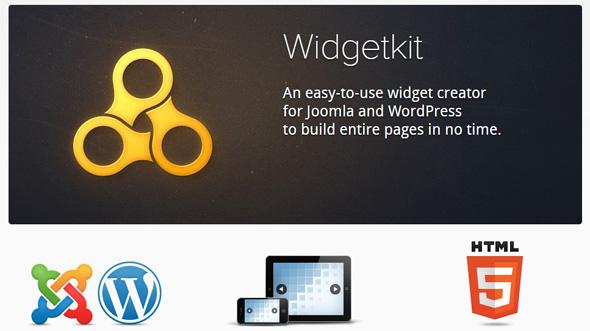 Widgetkit 特效工具组件