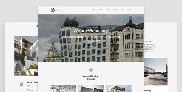 Joomla 建筑&房地产模板-Woodbury